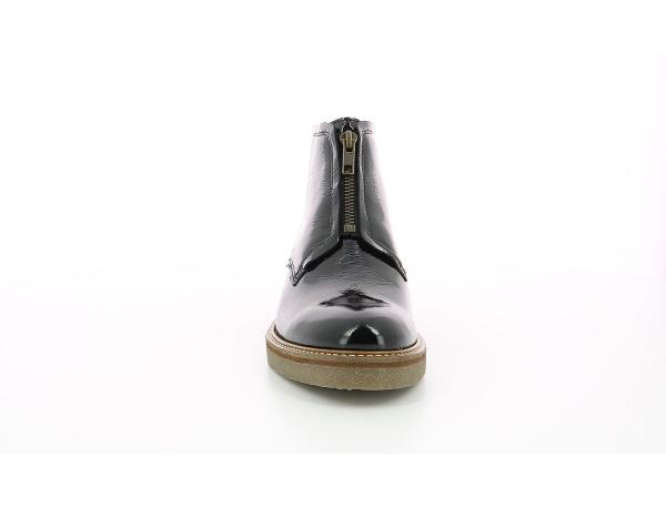Kickers Oxfordozip noir vernis